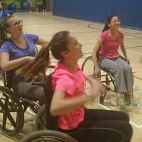 Grade 8s Try Wheelchair Basketball