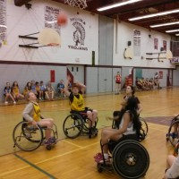 Grade 7s Get Introduced to Wheelchair Basketball